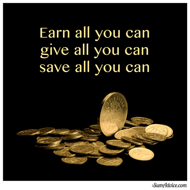 Save All You Can… With Humility